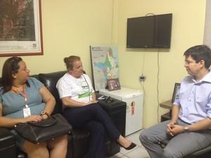 reunião abav reunião avião macapá voos amapá (Foto: Abinoan Santiago/G1)