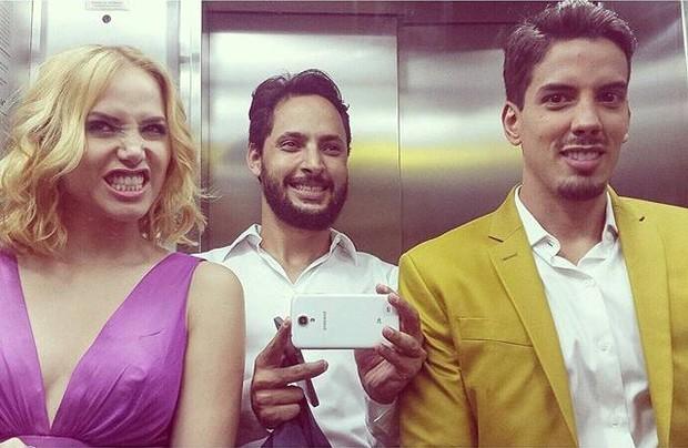 Leticia Collin e Felipe de Carollis (Foto: Reprodução/Instagram)