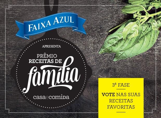 Receitas de família - votação (Foto:  )