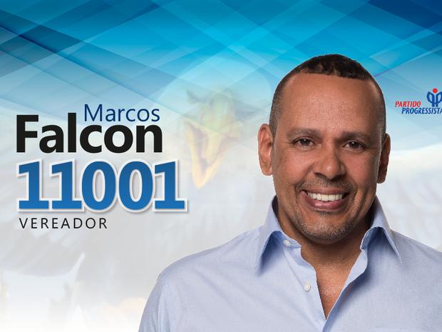 Marcos Falcon era candidato a vereador (Foto: Reprodução/Facebook)