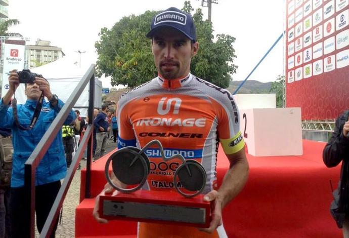 Cristian Clavero tour do rio ciclismo (Foto: Tour do Rio / Divulgação)