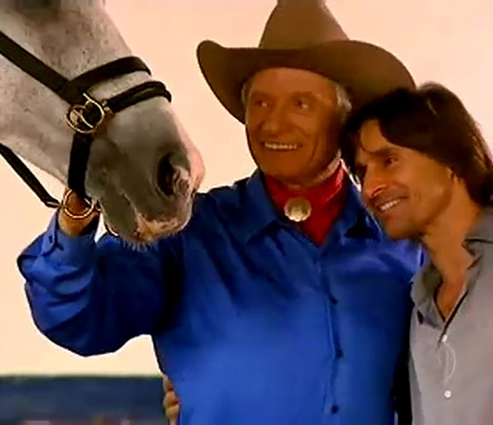 Murilo Rosa em momento no Estrelas exibido em 2011 (Foto: Globo)