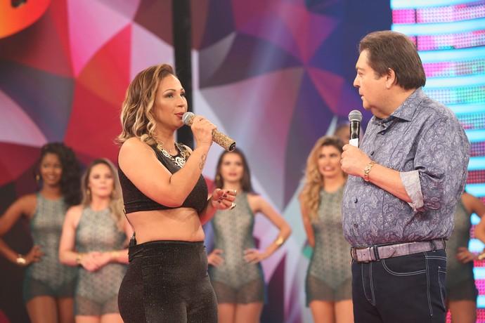 Valesca contou que não achou tão difícil dançar a dois no programa (Foto: Carol Caminha/Gshow)