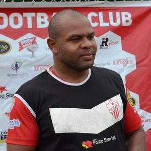Vanderson dos Santos, técnico do Rio Branco-AC Sub-19 (Foto: Duaine Rodrigues)