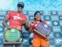 Silvana Lima e Bino Lopes faturam QS 1500 da Praia do Forte, na Bahia