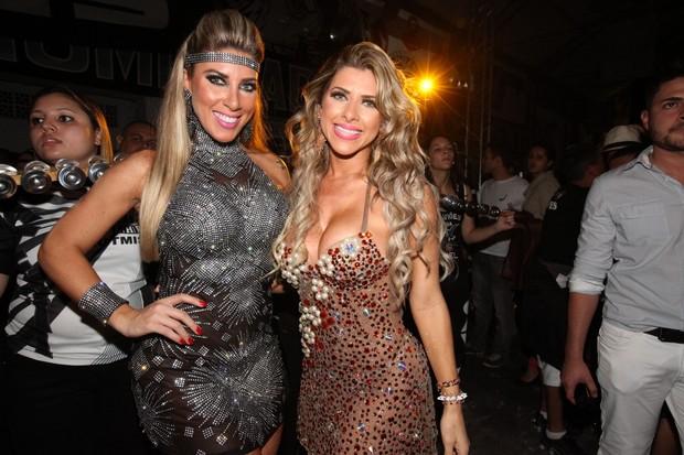 Tatiana e Ana Paula Minerato  (Foto: Leo Franco / Agnews)