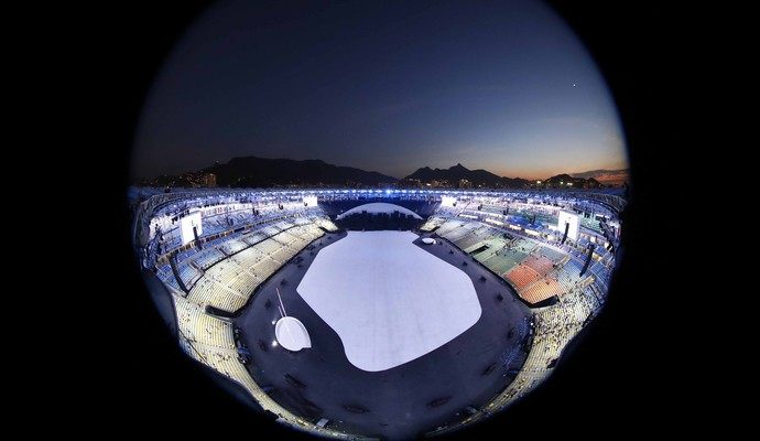 Maracanã abertura Rio de Janeiro Olimpíada (Foto: REUTERS / Pawel Kopczynski )