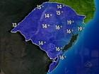 Inverno começa com frio e chuva no Rio Grande do Sul