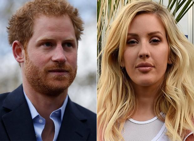 Príncipe Harry e a cantora Ellie Goulding (Foto: Reuters agência - Agência Getty Images)