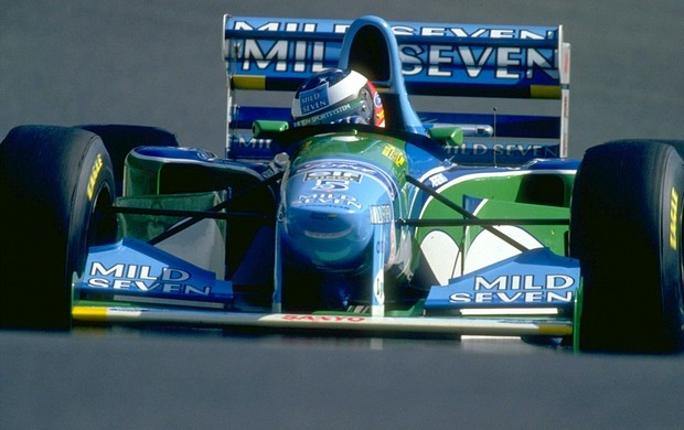 Michael Schumacher Benetton 1994 (Foto: Getty Images)