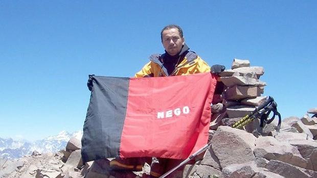 alpinista paraibano Josenildo correia, desaparecido no Aconcágua (Foto: Arquivo Pessoal)
