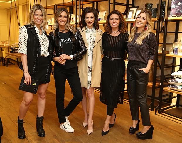 Didi Wagner, Fernanda Lima, Sophia Abrahão, Giovanna Antonelli e Mica Rocha (Foto: Manuela Scarpa/Brazil News)