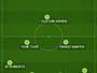 Cuca ensaia Palmeiras com Erik e Thiago Santos para pegar Atlético-MG