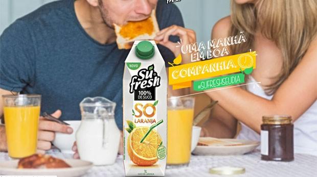 Su Fresh - 100% só laranja (Foto: Reprodução)