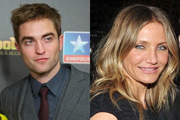 Robert Pattinson e Cameron Diaz (Foto: Getty Images)
