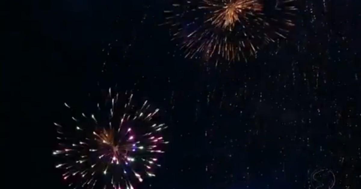 Confira a programação de shows e queima de fogos de artifício na ... - Globo.com