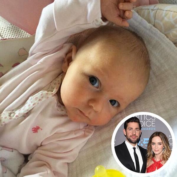 Filha de Emily Blunt com John Krasinski (Foto: Getty Images / Instagram)