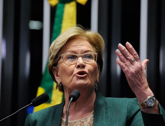 A senadora Ana Amélia (Foto: Edilson Rodrigues/Agência Senado)