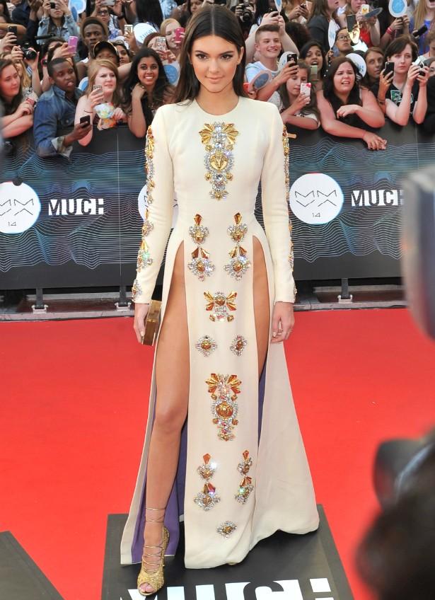 A socialite e modelo Kendall Jenner no MuchMusic Video Awards, em junho de 2014. (Foto: Getty Images)