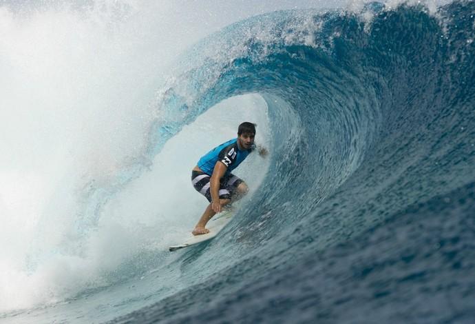 surfe Ricardo dos Santos Teahupoo  (Foto: Steve Robertson / ASP)