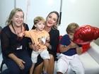 Claudia Leitte traz a família para seu show no Festival de Verão 2015