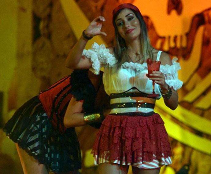 Letícia sempre animava as festas do BBB14 (Foto: Frederico Rozario / TV Globo)