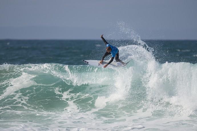 Jadson André em ação na etapa de Jeffreys Bay pelo Mundial de Surfe 2015 (Foto: Divulgação / WSL)