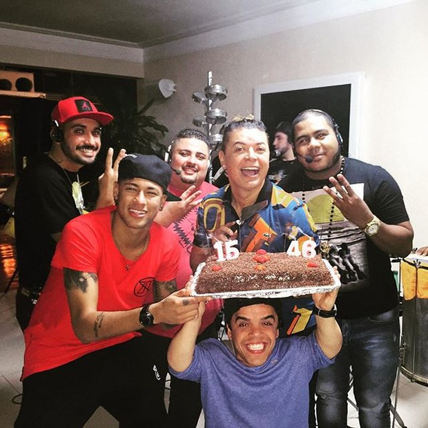 Aniversário David Brazil  (Foto: Reprodução/Instagram)