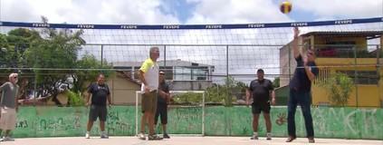 Federação de Vôlei do Estado de PE abre inscrição para torneio de bairro (Reprodução / TV Globo)