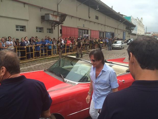 Roberto Carlos (Foto: Lucas Pasin / EGO)
