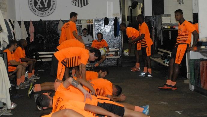 XV de Piracicaba Nhô Quim (Foto: Fernando Galvão / XV de Piracicaba)
