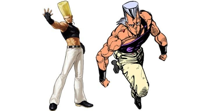 Benimaru pode ter sido inspirado em personagem do mangá JoJo Bizarre Adventure (Foto: Reprodução / gangeekstyle)