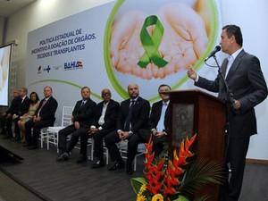Plano Estadual de Transplante de Órgãos foi lançado nesta terça-feira (Foto: Manu Dias/GOVBA)