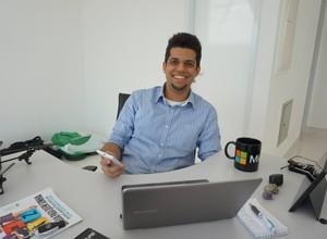 Com objetivos traçados desde cedo, Curti escolheu São Paulo para viver plenamente sua ambição (Foto: Arquivo pessoal)