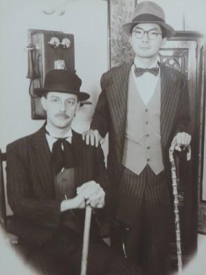 Claus e Hélio estão juntos há 25 anos (Foto: Reprodução/Arquivo Pessoal)