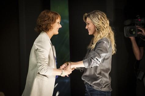 Bianca Ramoneda e Amora Mautner (Foto: João Cotta/ TV Globo)