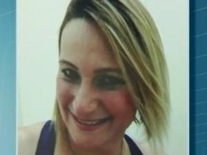 Rosangela, de 36 anos, foi atingida por um raio em Guarujá, SP (Foto: Reprodução/TV Tribuna)