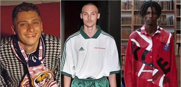 Palace, Gosha Rubchinskiy e Koché são exemplos de como o futebol entrou de vez no mundo da moda (Foto: Reprodução/Instagram)