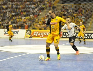 Sorocaba Futsal x Corinthians, Liga Paulista de Futsal,  Arena Sorocaba (Foto: Divulgação / Magnus Futsal)