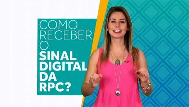Veja como acessar ao sinal digital da RPC TV (Foto: Reprodução)
