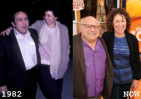 Danny DeVito & Rhea Perlman, 1982 (Foto: .)