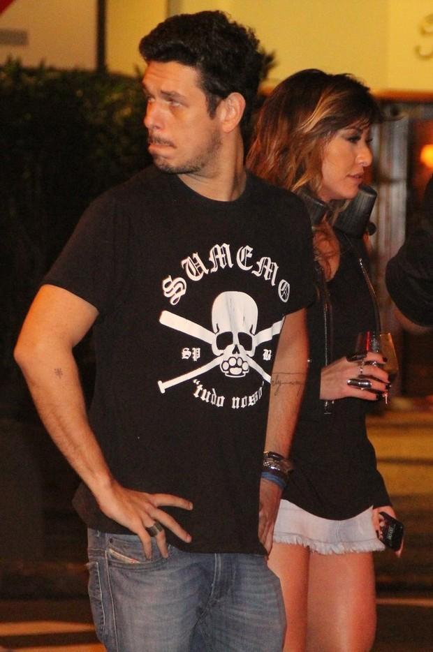 Sabrina Sato e o namorado João Vicente (Foto: Rodrigo dos Anjos / AgNews)