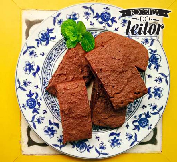 Brownie de chocolate com farinha de coco (Foto: Arquivo pessoal)