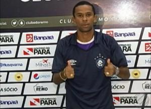 Saci retorna ao Leão após inúmeros acessos no Brasileiro (Foto: Reprodução/TV Liberal)