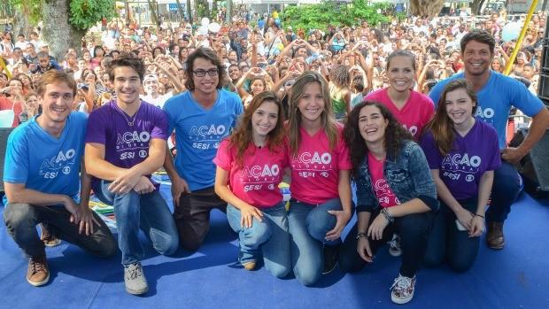 Ação Global faz 1,2 milhão de atendimentos pelos país (Divulgação/Kiko Cabral )