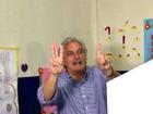 Delcídio diz que continua no Senado (Michelle Machado/TV Morena)