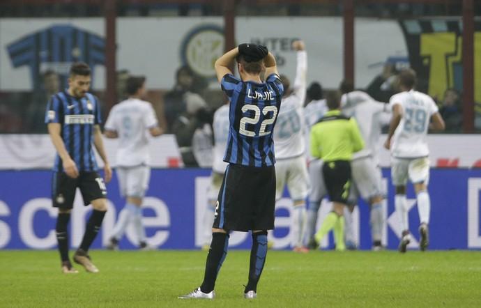 Adem Ljajic Inter de MIlão x  Lazio  (Foto: AP)