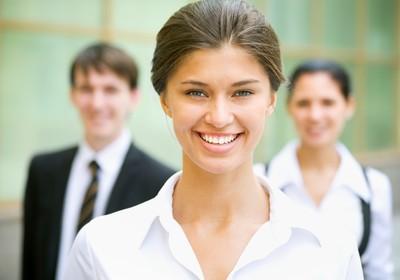 Executiva Mulher Empresa Carreira Otimismo (Foto: Shutterstock)
