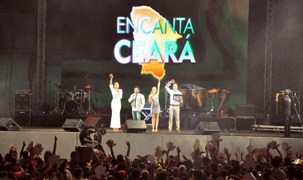 Especial Encanta Ceará foi exibido pelo 2º ano na Globo Internacional. (Foto: Assessoria de Comunicação / SVM)