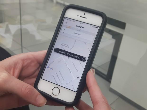 Uber começa a operar em Ribeirão Preto, SP (Foto: Rodolfo Tiengo/G1)